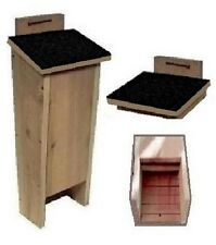 Ark Workshop Shingled Bat House cedar shelter box & A+ mosquito bug control BK