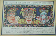 JAMIE HAYES NEW ORLEANS MARDI GRAS 1998 VERY RARE SIGNED GOLD ARTISTS PROOF 1/1