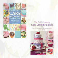 Lindy Smith & Carol Deacon 2 Books Collection Set Compendium of Cake Decorating