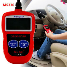 MS310 OBD2 EOBD Scanner Car CAN BUS Code Reader Engine Fault  Diagnostic Tools