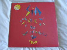 Vinyl Double Album: SIA : The We Meaning You Tour Live At The Roundhouse  Yellow