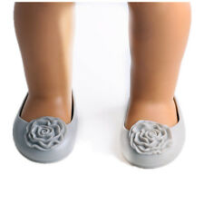 best gift fashion flower shoes for 18inch American girl doll party b374