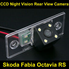 FOR Skoda Fabia Octavia RS Car CCD Night Vision Backup Parking Rear View Camera