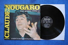 CLAUDE NOUGARO / LP PHILIPS 6332 097 / 1969 Réédition 1972 ( F )