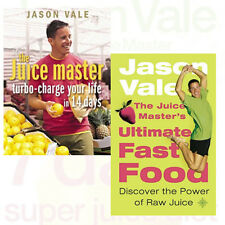 Jason Vale Collection 2 Books Set Turbo-charge Your Life in 14 Days,The Juice