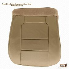 2001 Ford F250 F350 Lariat Driver Side LEATHER Replacement Seat Cover Color Tan