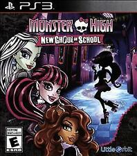 Monster High New Ghoul In School Ps3 Playstation 3 Video Game