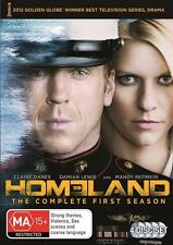 Homeland : Season 1 (DVD, 2012, 4-Disc Set) New DVD Region 4 Sealed