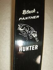"RARE EX+++ 1973 52"" Bear Black Panther Hunter 50-55# Recurve Bow RH"