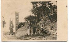 1930 Gello di Pescaglia Castello Guller Vialla a Roggio Lucca FP B/N VG ANIM