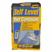 EVERBUILD 708 SELF LEVEL FLOOR COMPOUND 20KG GREY LEVELLING LEVEL FLOOR SCREED