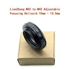 LianZhong  M42 to M42 Adjustable Focusing Helicoid 10mm - 13.5mm