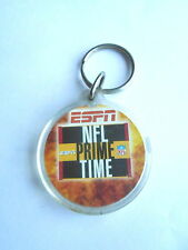 Cool 2001 ESPN NFL Prime Time Football & Miller Lite Beer Advertising Keychain
