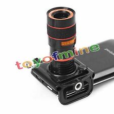 8 X Zoom Optical Lens Telescope + universal holder For Camera Mobile Cell Phone