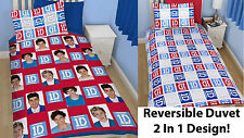 One Direction Single Duvet Cover Set 1D Quilt Cover Bedding Reversible 2 in1 New