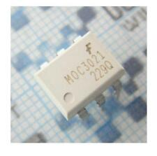 10PCS NEW MOC3021 OPTOISO 400VDRM TRIAC OUT 6-DIP NEW GOOD QUALITY