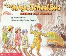 Joanna Cole / Bruce Defgen THE MAGIC SCHOOL BUS - INSIDE THE EARTH pb book