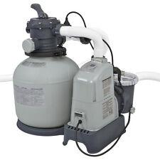 Intex Pompa filtro a sabbia clorinatore 10000lt/h piscina pulizia acqua 28680