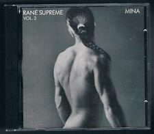 MINA RANE SUPREME VOL. 2 CD F.C. 1 STAMPA MADE IN SWITZERLAND