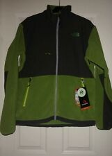 NWT! The North Face Men's Denali Fleece Jacket in Green Grey $179, Sz M