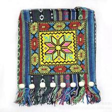 Colorful Thai Hmong Embroidered Hill Tribe Purse Crossbody Boho Hippie Hobo Bag