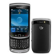 "Unlocked Original BlackBerry Torch 9800  AT&T GPS GSM 3.2"" 5MP Smartphone Black"