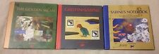 GRIFFIN & SABINE Trilogy 3 Book Lot HCDJ Nick Bantock NOTEBOOK Golden Mean + VGC