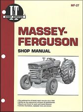 Massey-Ferguson MF135, MF150 and MF165 Shop Manual MF-27
