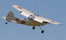 1/6 Scale Cessna L-19  Bird Dog Plans, Templates, Instructions