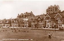 Grosvenor Street St Leonards on Sea Golf Putting Green unused RP old pc Norman