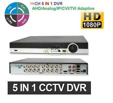16CH 960H H.264 HDMI Video Audio Survillance CCTV Security PTZ Alarm DVR System