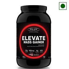 Sinew Elevate Mass Gainer - 1 Kg (Kesar Badam Pista)