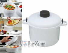 Microwave Pressure Cooker Steamer Vegetables Rice Pasta Cooking Pot Pan