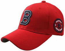 B96 FUERZA Baseball Sports Boston B Logo Driving Design Ball Cap Hat Truckers