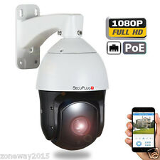 POE SONY 20X ZOOM HD 1080P 2.0MP Outdoor PTZ IP Speed Dome Camera 350M laser IR