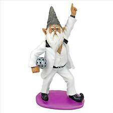 """Saturday Night Fever Tony """"Gnomero""""  Staying Alive Disco Garden Gnome Statue"""