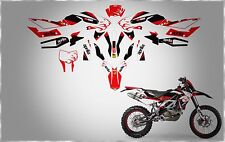 APRILIA RACING SXV RXV 450 550 LION HEAT FAIRING TANK HUGGER FENDER GRAPHIC KIT