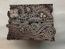 Copper Batik stamp tjap chop for hand block printing C