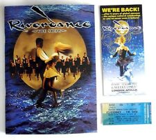 RIVER DANCE - BROCHURE, LEAFLET & TICKET - 2002