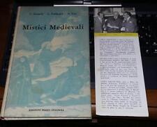 mistici medievali-betocchi-fallacara-lisi-edizioni radio italiana 1956