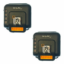 CACTUS Wireless Flash RICETRASMETTITORE Remote trigger V6-TWIN SET-NUOVI-UK