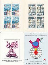 C+ 74 - TIMBRE DE FRANCE CARNET CROIX-ROUGE 1974 NEUF**