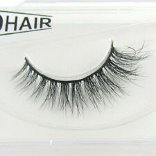 New 100% Siberian Mink Fur 3D False Eyelashes Luxurious Classic Daily Eye Lashes