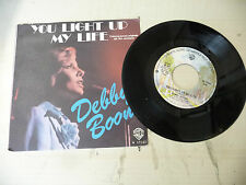 "DEBBY BOONE""YOU LIGHT UP-disco 45 giri WB Italy 1977"" PERFETTO-OST"