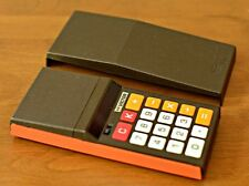 Vintage Victor Calculator Orange Brown Red LED Model 95 Canada