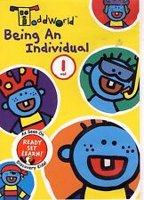 ToddWorld - Being an Individual NEW DVD RARE! Discovery Kids Vol 1