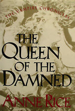 Anne Rice~THE QUEEN OF THE DAMNED~TRUE 1ST/DJ~NICE COPY