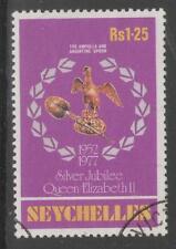 SEYCHELLES SG397 1977 1r25 SILVER JUBILEE FINE USED