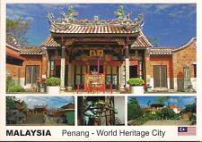 MALAYSIA POSTCARD - PENANG SNAKE TEMPLE