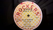 "HUGH MUNDELL 12"" vinyl ❂ False Rumour Little Short Man ❂ 1978 JA rockers"